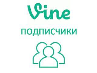 Vine - Подписчики (фолловеры) (10 руб. за 100 штук)