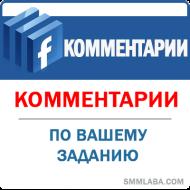 Facebook - Комментарии по заданию