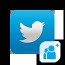 Twitter - Подписчики (без гарантии)