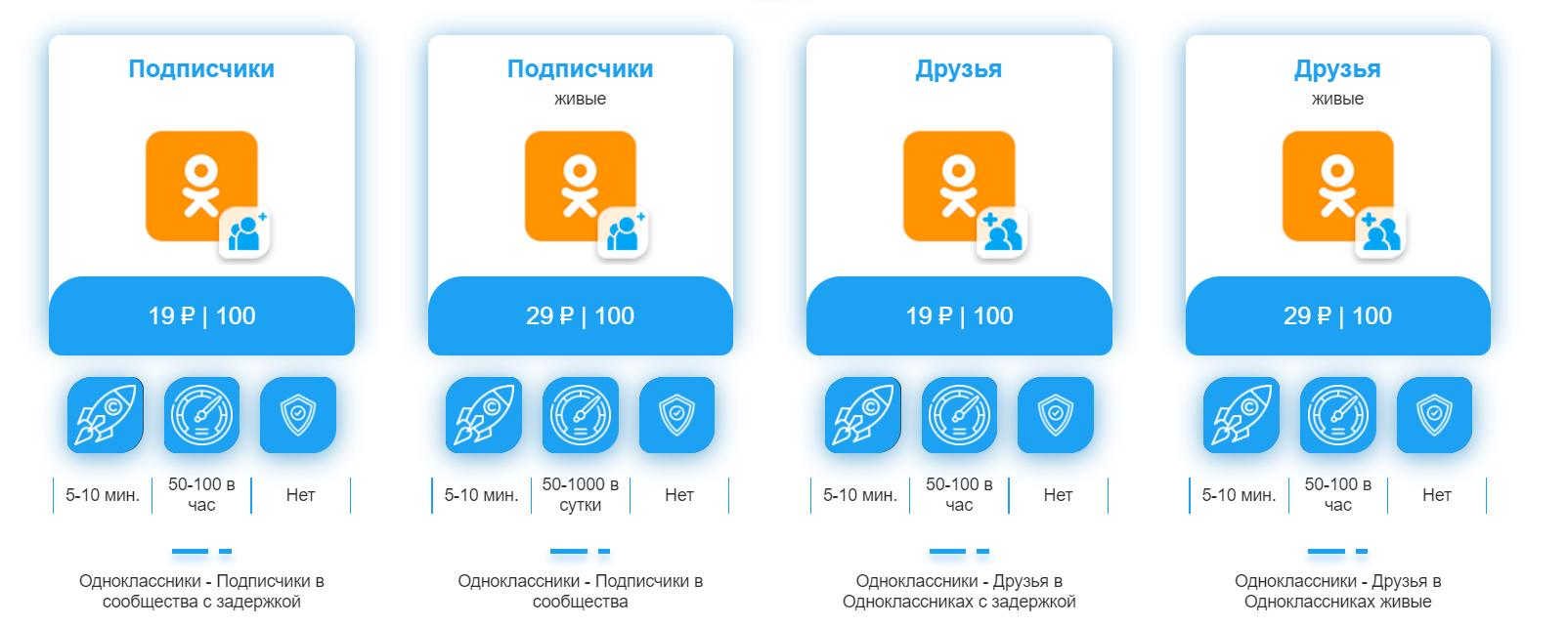 Подписчики в Ок.ру