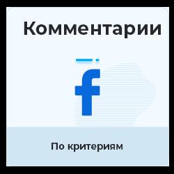 Facebook - Комментарии по заданию (критерии)