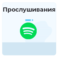 Spotify - Прослушивания (плэйлиста)