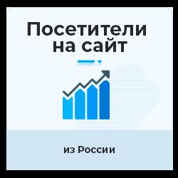 Русский уникальный трафик из Twitter