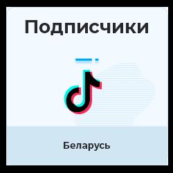 TIKTOK - Подписчики из Беларуси